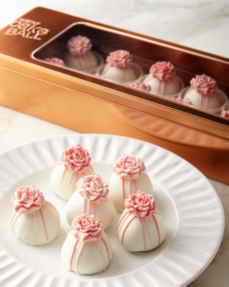 Austin Cake Ball Pink Roses Cake Balls