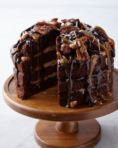 Annie Pie's Bakery Nutty Caramel Coconut Cake, For