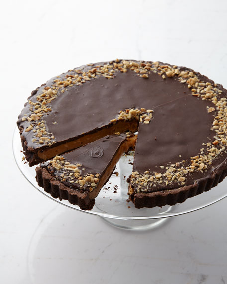 Peanut Butter Crunch Tart, For 10-12 People
