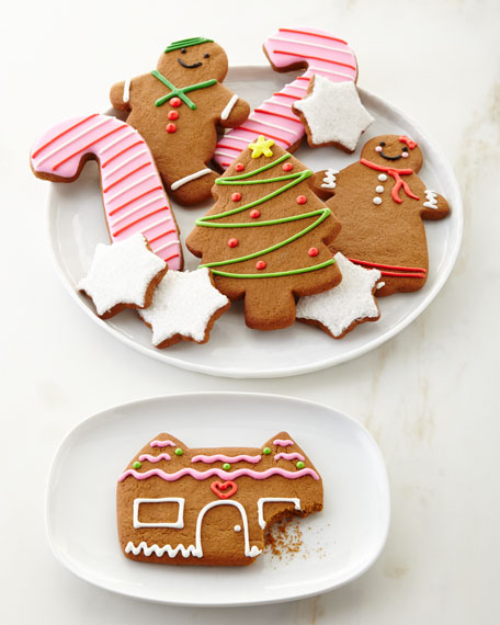 Gingerbread Family Cookies