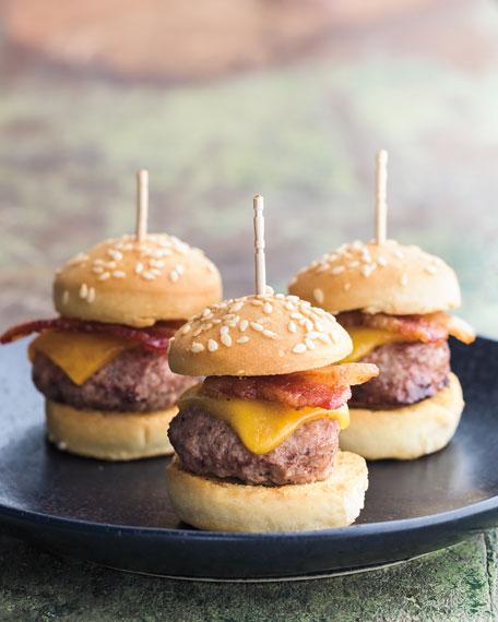Mini Cheeseburger Bites, For 9 People