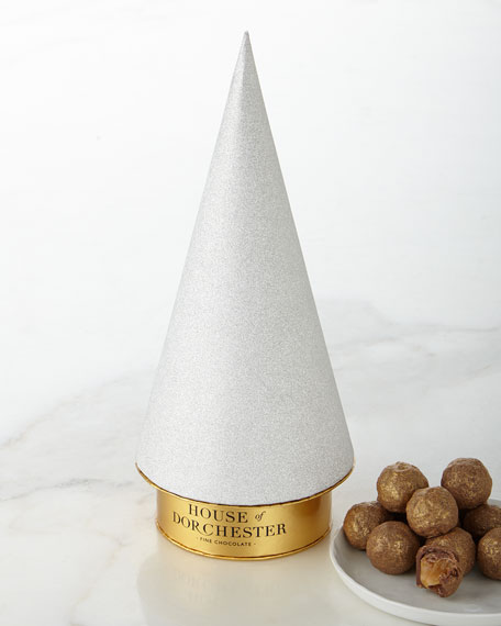 House of Dorchester Sparkle Bauble Tree with Chocolate