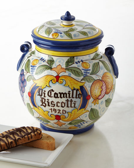 Dicamillo Baking Co Melograno Grande Biscotti Jar
