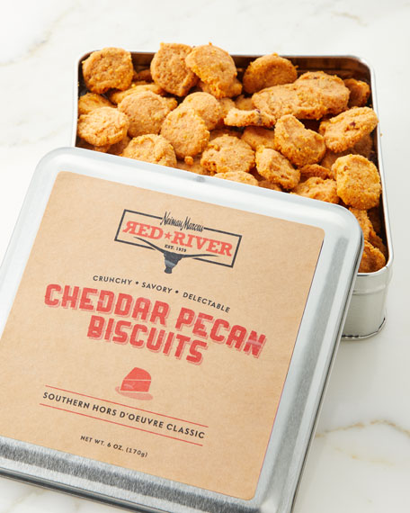 Red River Cheddar Pecan Biscuits