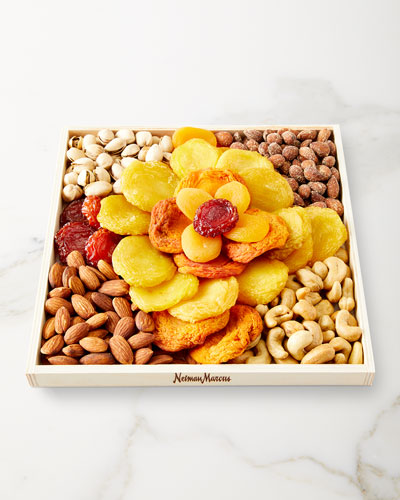 Rose Fruit and Nut Tray