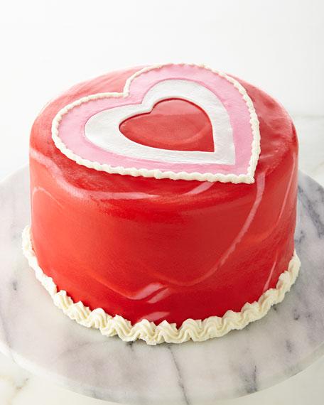 6 Inch Heart Cake