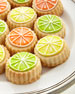 Image 2 of 2: Citrus-Glaze Shortbread Cookies