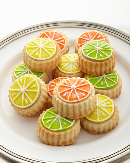 Citrus-Glaze Shortbread Cookies