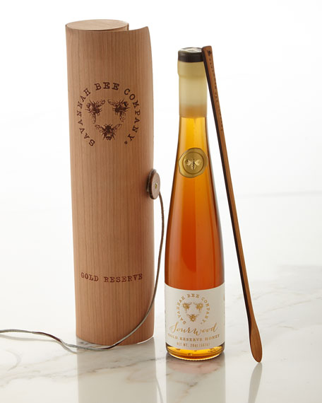 Savannah Bee Company Sourwood Gold Reserve Honey