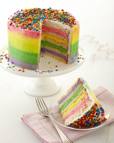 Annie Pie's Bakery Rainbow Cake