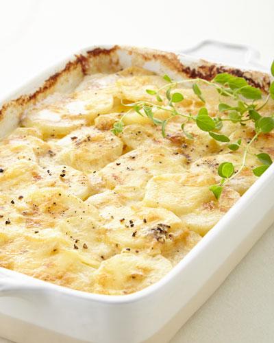 Swiss Truffle Potato Casserole