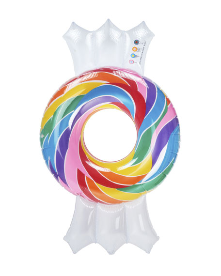 Dylan's Candy Bar Whirly Twisty Candy Pool Float