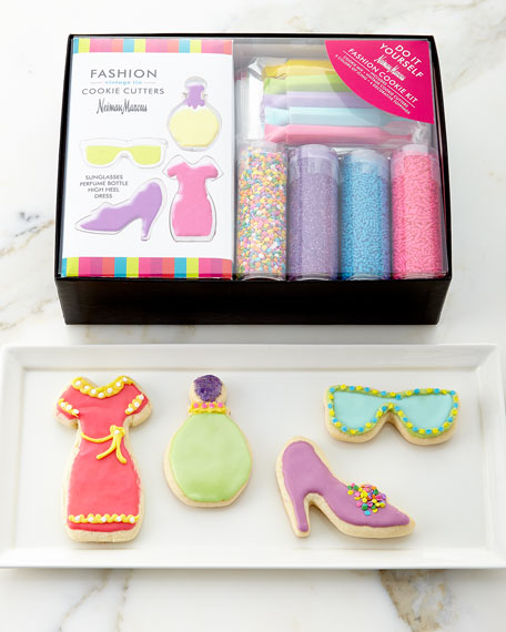 Exclusive Do It Yourself Fashion Sugar Cookie Kit