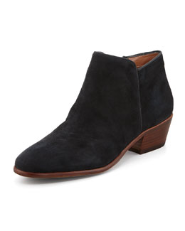 Sam Edelman Petty Suede Ankle Boot, Black