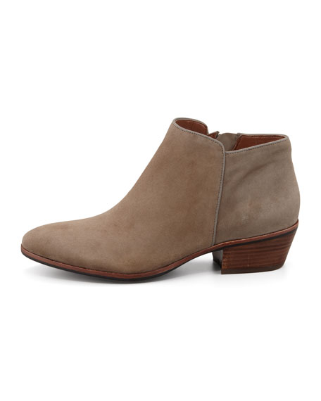Petty Suede Ankle Boot, Tan