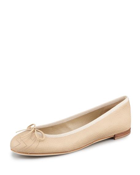 Soho Leather Ballerina Flat