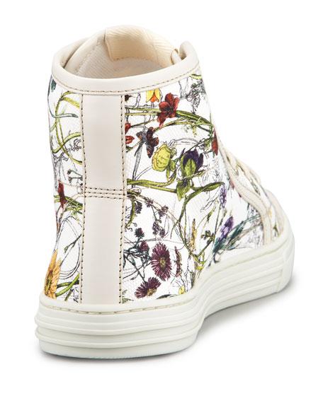 California Flora Canvas High-Top Sneaker