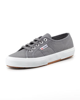 Superga Cotu Flat Canvas Sneaker, Gray
