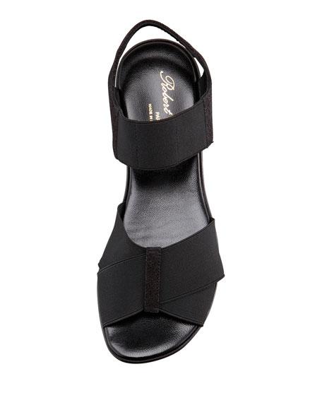Parni Stretch Flatform Sandal