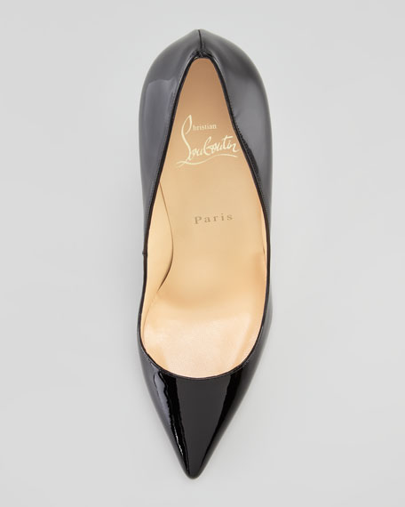 Pigalle Patent Pump, Black