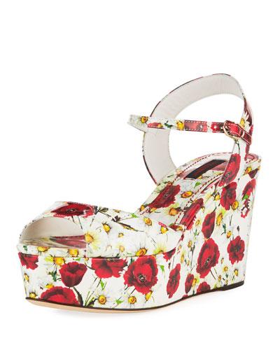 Poppy Wedge Platform Sandal