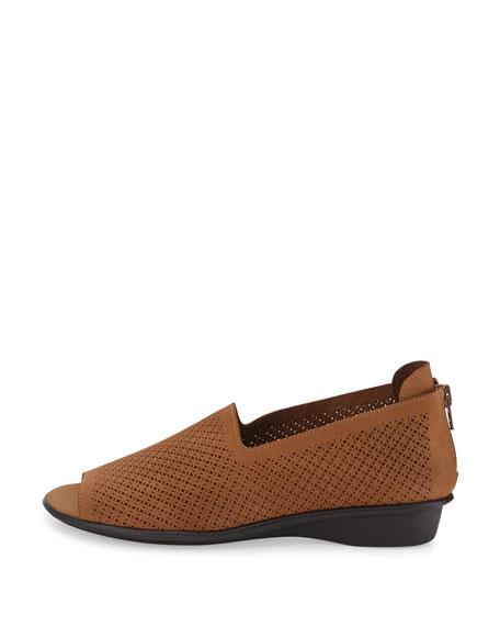 Eadan Open-Toe Demi-Wedge Sandal, Viso