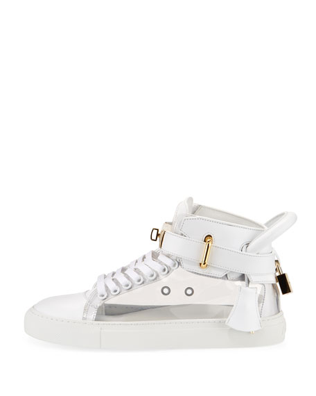 Women's 100mm Turn-Lock High-Top Sneaker