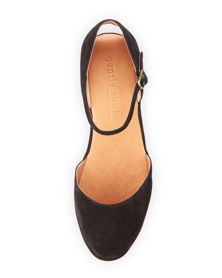 Noa Star Demi-Wedge Ballerina Flat, Black