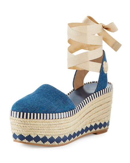 Tory Burch Dandy Espadrille Wedge BCW2eXi