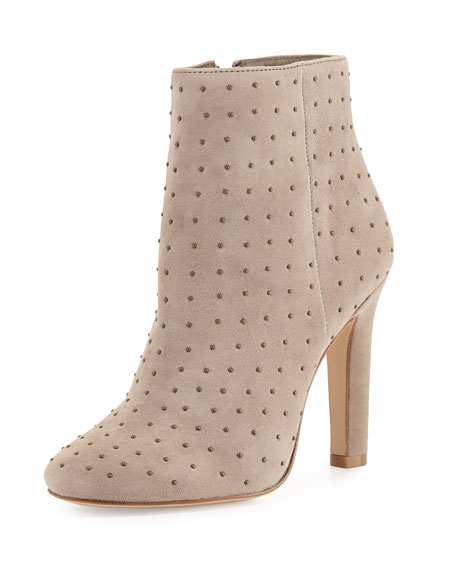 Joie Hachiro Mini-Stud Ankle Boot, Gray