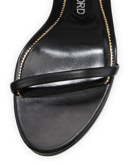 Platform Ankle-Lock 105mm Sandal