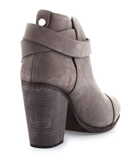 Harrow Nubuck Ankle Boot, Granite