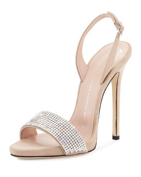 Giuseppe Zanotti Embellished slingback sandals RdUzeKB