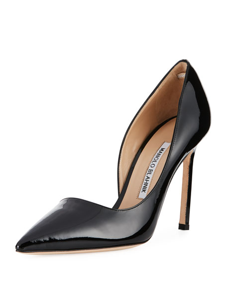 Stresty Patent Half d'Orsay Pump