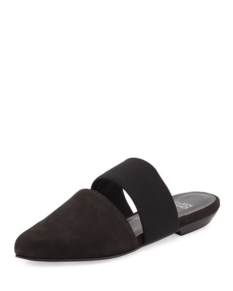 Eileen Fisher Day Two-Piece Pointed-Toe Mule
