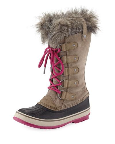 Joan of Arctic™ Faux-Fur-Trim Boot