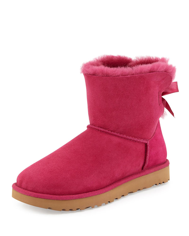 fea8d492a0c Mini Bailey Bow II Shearling Fur Boot