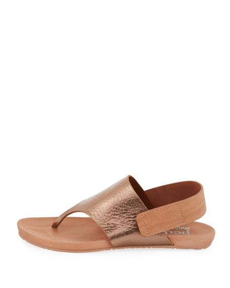 Jacqueline Metallic Thong Sandal