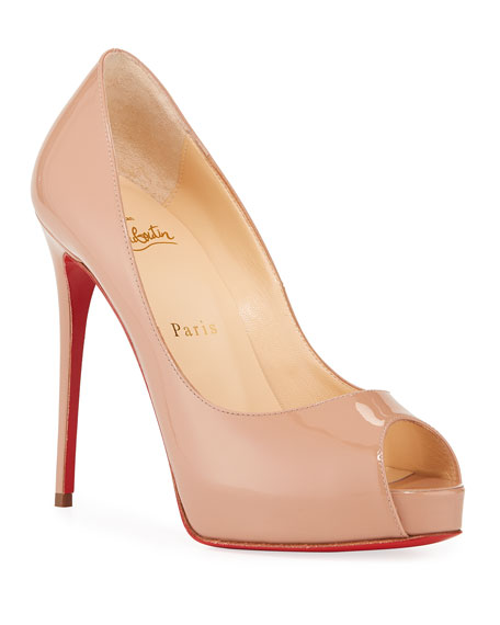 Christian Louboutin New Very Prive Patent Red Sole