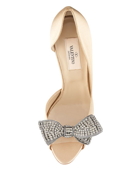 Jewelry Couture-Bow d'Orsay Pump