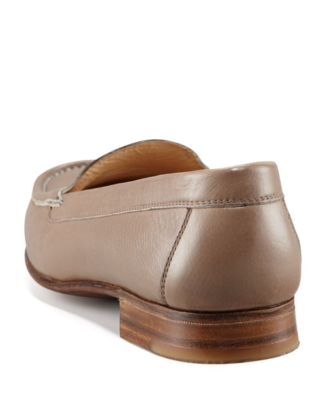 Venetian Leather Moccasin
