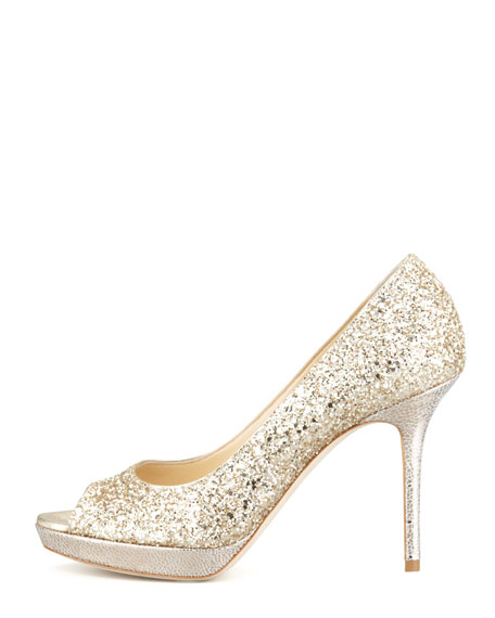 Luna Peep-Toe Pump