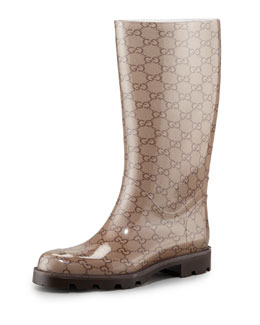 Gucci GG Logo Rainboot