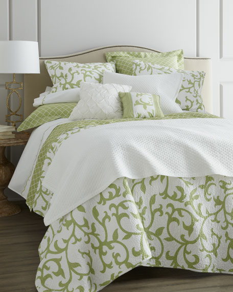 Full/Queen Houndstooth Quilt Set