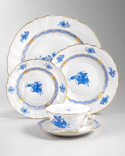 Chinese Bouquet Dinnerware, Blue
