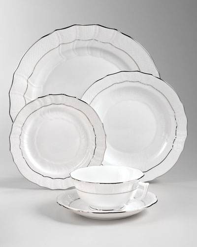 Platinum Edge Dinnerware