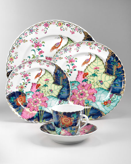 Mottahedeh Tobacco Leaf Dinnerware & Matching Items   Neiman Marcus