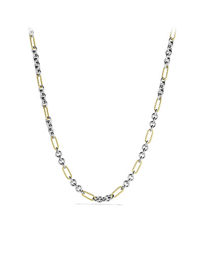 David Yurman Figaro Chain Necklace