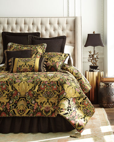 King Gustone 3 Piece Comforter Set. Luxury Bedding   Sets at Neiman Marcus