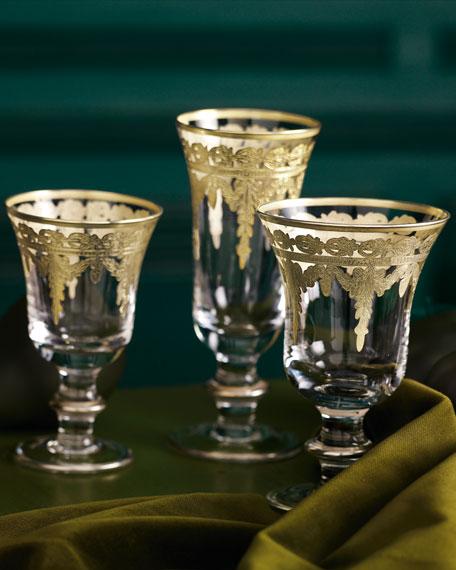 Vetro Gold Water/Wine Glass
